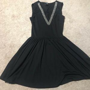 3/$15 H&M little black dress size XS *imperfect